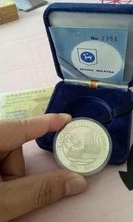 proof coin 马来西亚纪念币欢迎pm