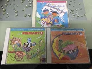 Yamaha Music CDs