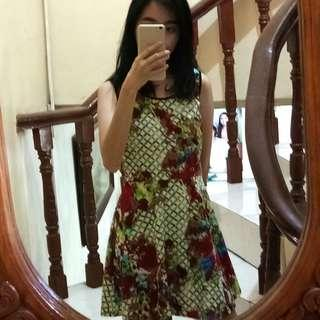 Preppy Green Dress