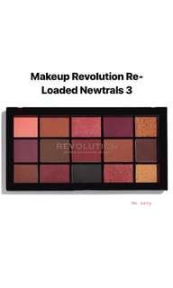 *SALE* Makeup Revolution Re-Loaded  Newtrals 3