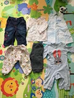 12m-18m BB衫褲