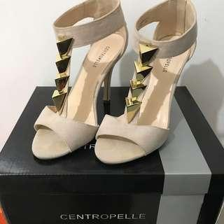 Centropelle Nude Heels