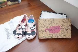 Melissa disney Mickey Mouse shoes