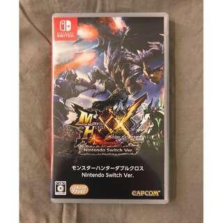 Nintendo Switch NS Game MHXX Monster Hunter 魔物獵人
