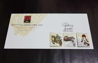Setem First Day Cover Pertandingan Ekuestrian Terunggul Di Dunia 2007