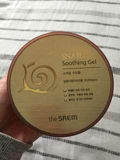 The Saem- Snail Soothing Gel