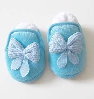 清貨 嬰兒秋冬保暖毛毛鞋 BB學步鞋 內長12.5cm