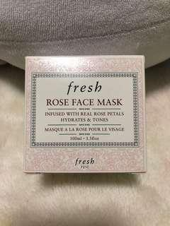 Fresh Rose Face Mask 300ml brand new never opened perfect for present 🎁