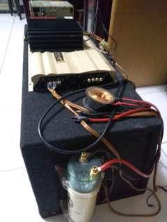 🚚 喇叭擴大機電容調音器