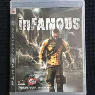 PS3 Infamous PlayStation Game