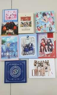 WTS UNSEALED ALBUMS