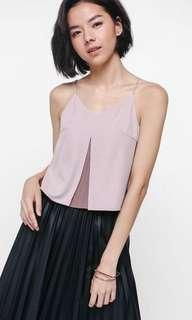 Love Bonito Arysel pleated underlay Top