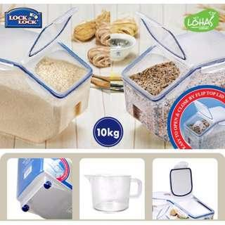 NEW Lock&Lock Rice & Grain Container 12L