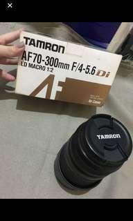 TAMRON AF70 - 300mm F/4-5.6  ld macro 1:2