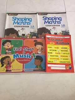 P1 school Textbooks
