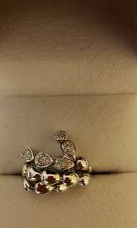 真鑽石戒指