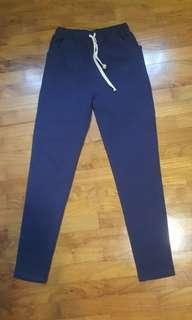 blue long pants #1212