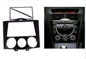 Mazda RX8 / RX-8 2 Din Radio Stereo Audio Panel Mount Dash Kit Face Plate