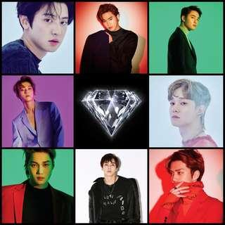 [INCOMING STOCK] EXO Love Shot Album (seal)