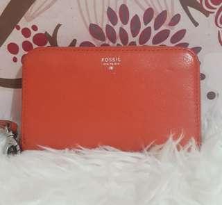 SALE Fossil phone zip wallet