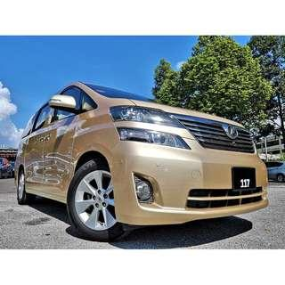 2010 Toyota Vellfire 2.4 (A) [38,600KM ONLY][S/ROOF][H/THEATERT][2 P/DOOR][1 OWNER][LIKE NEW][PROMOTION] 10