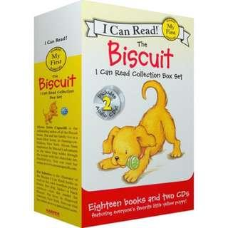 The Biscuit I Can Read Collection Box Set (18 books collections + 02 CD)