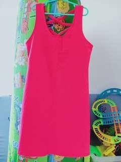 pink bodycon dress