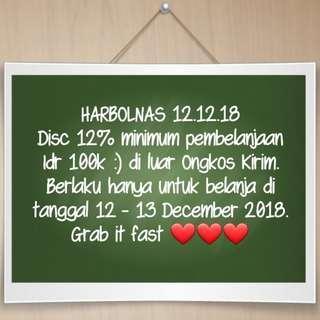 Harbolnas 12.12.18