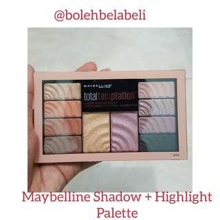 Maybelline Shadow + Highlight Pallete