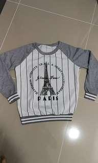 Long sleeve Tops free size (Suitable for S - L size)