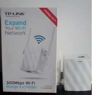 TP-LINK, 300Mbps Wi-Fi Range Extender TL-WA855RE