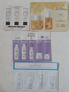 INSTOCK Skincare Samples