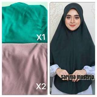 Instant Tudung Moscrepe hijab
