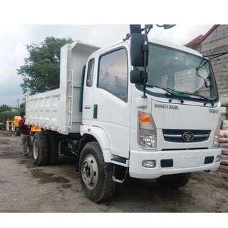 6 Wheeler Mini Dump Truck 6.5m³