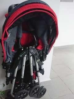 Free to bless : Capella Stroller / Pram. Used condition, NO FUSSIES.