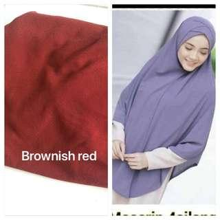 Instant Tudung Moscrepe