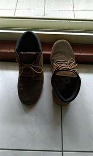 🚚 短靴42號(棕色)