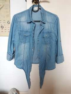 Korea denim shirt / Jacket