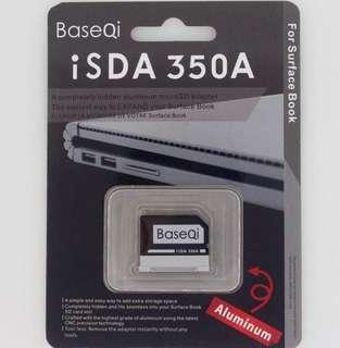BaseQi microSd card adaptor for Surface book 1 and 2