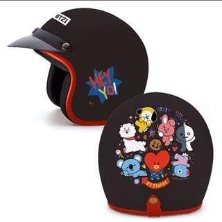 🚚 現貨。新光三越  bt21  由我保護你 安全帽