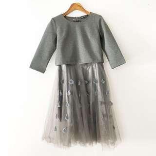 🎉 斯文裙灰色特色