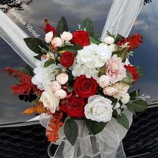 🚚 Wedding Car Decoration