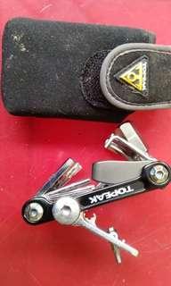 Mini bike tool set