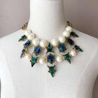 Zara French Gothic Statement Necklace