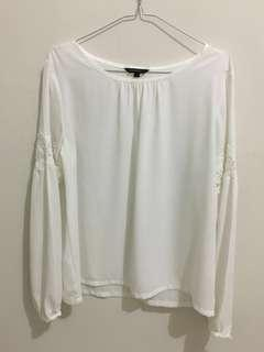 [REPRICE]White Blouse
