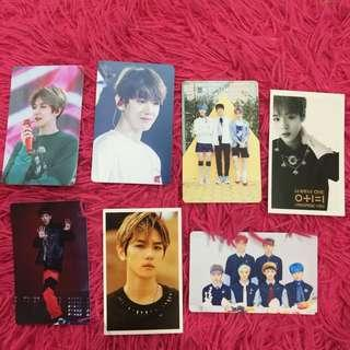 Unofficial Photocards EXO/NCT/WANNA ONE