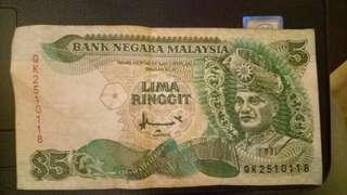 RM5 Note