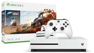 Xbox one s 1TB (極速地平線4)同捆版