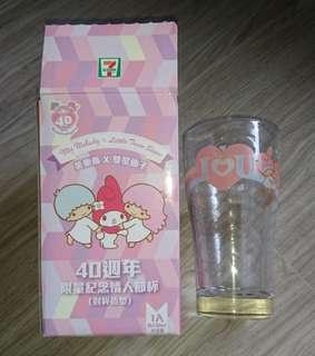 My Melody Limited Edition Glass