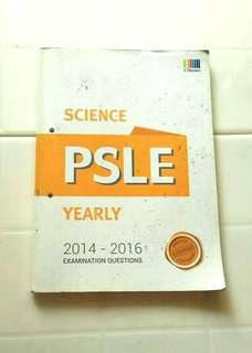 PSLE Science Yearly (2014-2016)